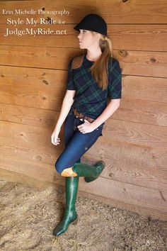Zone 2 Jumper rider Taylor Burns models Ralph Lauren and 2KGrey with boots in one of falls hottest colors: Emerald green. See more Style My Rides exclusive boots with interchangeable hunt tops throughout December as we launch our custom boot line by DeNiro boot company- click to see full gallery