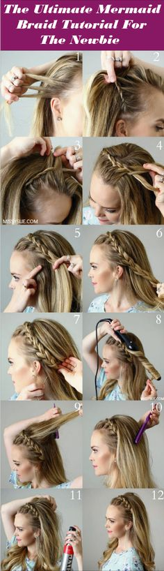 Looking out for fantabulous Mermaid Braid haircut tutorial? You have come to the right place! Here we demonstrate how easily you can create your own Mermaid Braid haircut. Check out and enjoy.
