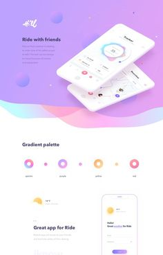Enhance your WordPress website design easily with Divi Theme and Divi Builder. Android App Design, App Ui Design, Mobile App Design, Web Design Tips, Web Design Trends, Flat Design, Web Layout, Layout Design, Template Web