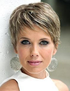 Short Cropped Hairstyles For Fine Hair Beauty Pinterest Styles And