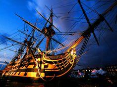 HMS Victory at Portsmouth Historic Dockyard
