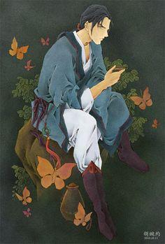延王 尚隆 Enou Shouryu:十二国記 Juuni Kokki/Twelve Kingdoms - fanart