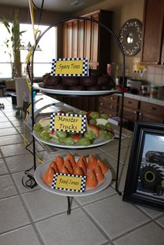 Monster Trucks Racing Cars Birthday Party Ideas
