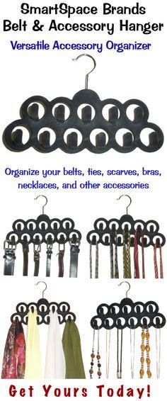 SmartSpace Brands Belt & Accessory Hanger