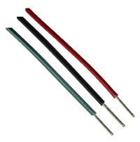 These hook up wires are insulated with cross-linked polyethylene to maintain heat resistance. For more information about these hook up wires, visit us at http://products.conwire.com/viewitems/oss-linked-polyethylene-sae-approved-type-sxl-wi-2/ethylene-sae-j-1128-approved-type-gxl-hook-up-wire