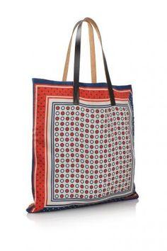 Marni Shopping Bag S$455. In silk!!