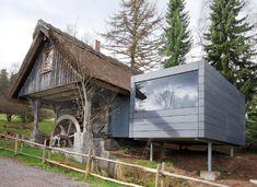 Gästehaus im ehemaligen Kornkasten, St. Georgen, Architekten: Fernando Vaccaro, Standort: 78112 St. Georgen