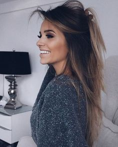 36 hair color trends you should try . - 36 hair color trends you should try … - Hair Color Balayage, Ombre Hair, Cool Hair Color, Hot Hair Colors, Hair Colour, Fall Hair, Gorgeous Hair, Pretty Hairstyles, Popular Hairstyles