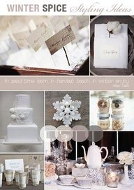 #winter #wedding #inspiration board