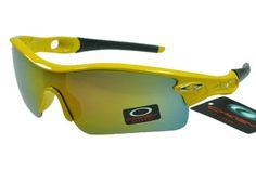 Oakley Radar Sunglasses Black Yellow Frame Colorful Lens 1044 [oakley 1044] - $25.00 : Ray-Ban® And Oakley® Sunglasses Online Store