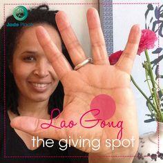 Verdrijft moeheid en kalmeert de geest   Lao Gong Massage   Jade Plaats