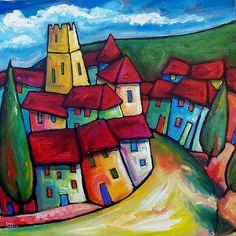 pintura de paisajes + REd - Buscar con Google