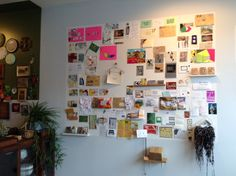 mail art collection by artist Anne-F, from the exhibit Crustacés Tapes & Collecting Friends