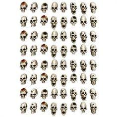 GREATER GOOD – Wargame Exclusive Fire Warrior, Human Skull, Elf, Scale, Aliens, Skulls, Tabletop, Resin, Random