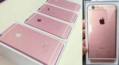 ภาพนี้หรือคือ iPhone 6s สีชมพู Rose Gold?
