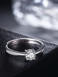 This Ring is made of SOLID WHITE GOLD Finish Thick Layering of Rhodium over Sterling Silver. Cubic Zirconia is simply one of the finest diamond simulants on the market. With color, clarity and cut crafted to match natural diamond standards. Stock Clearance Sale, Diamond Simulant, Solitaire Engagement, Round Cut Diamond, Natural Diamonds, White Gold, Wedding Rings, Band, Sterling Silver