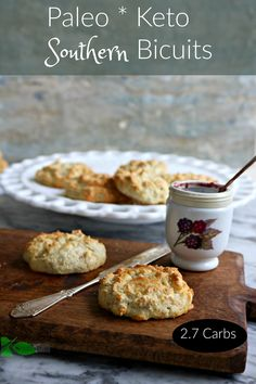 Paleo Keto Southern Grain Free Biscuits from Spinach Tiger