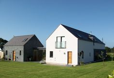 Carryduff house, PPS21 planning, rural architecture Minimalist Architecture, Architecture Design, Vernacular Architecture, Shed Design, House Design, Butler House, Cottage Extension, Self Build Houses, Rural House