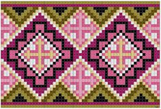 Costume, Jewellery, tissue & Tole Painting: Kvarde cross stitch pattern