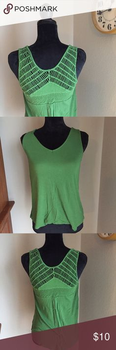 Back Detail Tank Beautiful tank with amazing detail! Perfect condition. No trades. Merona Tops Tank Tops