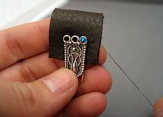 Use beads and 3 ring clasp to make leather jewelry. FREE classroom lessons and jewelry how-to at Nina Designs. Shop now!