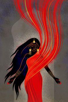 Modern Indian Art, Indian Folk Art, Indian Art Paintings, Modern Art Paintings, Rajasthani Art, Art Painting Gallery, Shiva Art, Art Drawings Beautiful, Madhubani Art