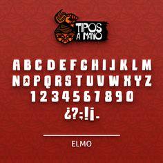 Tipografía Elmo