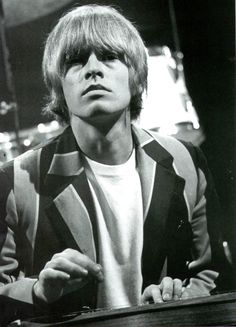 """""""Lewis Brian Hopkin Jones 28 February 1942 – 3 July 1969 Founder of The Rolling Stones (Weird to think he would be """" The Rolling Stones, Brian Jones Rolling Stones, Rock Bands, Bill Wyman, Charlie Watts, Stone World, British Rock, Christopher Robin, Robert Plant"""