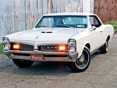 1967 Pontiac GTO.  Gah!  Love the white!