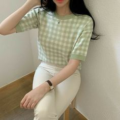 Korean Casual Outfits, Korean Outfit Street Styles, Cute Casual Outfits, Pretty Outfits, Stylish Outfits, Simple Outfits, Korean Style, Korean Ootd, Korean Dress