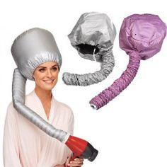 Travel Home Portable Soft Hood Bonnet Attachment Haircare Salon Hair Dryer New