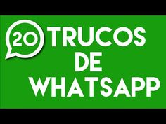 20 Trucos que Desconocías de WhatsApp | Venta de Tiempo Aire : Noticias   Vende recargas  https://www.tecnopay.com.mx/  llamar al 01 800 112 7412