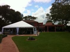 Tented area