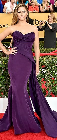 Camila Alves: simply stated at the 2015 SAG Awards