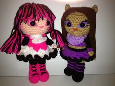 Amigurumi Monster High : 1000+ images about Amigurumi Monster High Dolls on ...