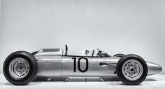 1962 Porsche Type 804 Formula One by Jeremy Brooks. More cars here. Porsche 804, Porsche Cars, Classic Race Cars, Ferdinand Porsche, Vintage Race Car, Car And Driver, Automotive Design, Formula One, Luxury Cars