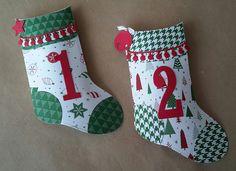 Ideacreations: Petites chaussettes ... pour un calendrier de l'av...
