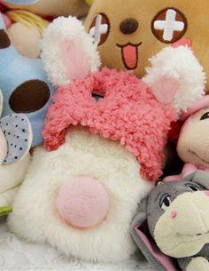 Fluffy Rabbit Phone Shell