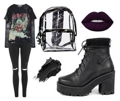 """Sin título #540"" by immoverthemoon on Polyvore featuring moda, UNIF, Faith Connexion, Topshop, High Heels Suicide y Urban Decay"