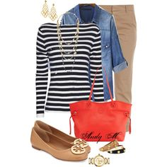 Tory Burch by andym8 on Polyvore featuring polyvore, fashion, style, rag & bone, Band of Outsiders and Tory Burch