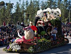City of Burbank's float in the 2014 Rose Parade.