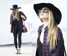 Get this look: http://lb.nu/look/6765632  More looks by Inês M: http://lb.nu/imm  Items in this look:  Bf Shirt, H&M Hat, Zara Shoes, Asos Sunglasses   #bohemian #chic