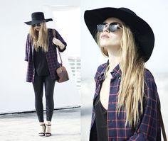 Bf Shirt, H&M Hat, Zara Shoes, Asos Sunglasses