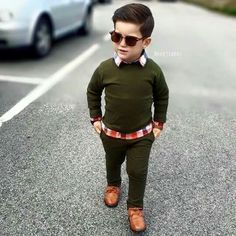 Boys Shirt And Trousers Toddler Boy Fashion, Little Boy Fashion, Toddler Boy Outfits, Fashion Kids, Toddler Boys, Young Boys Fashion, Fashion Fashion, Fashion Beauty, Little Boy Outfits