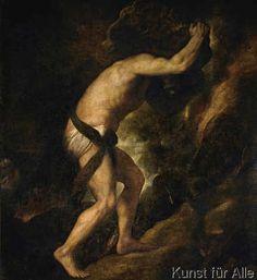 Tizian - Sisyphus