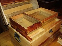 Custom Made Solid Wood Hope Chest