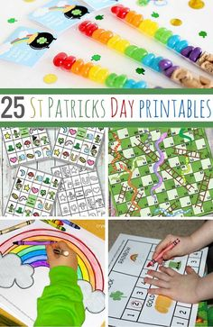 25 St Patricks day printables for kids to have fun with