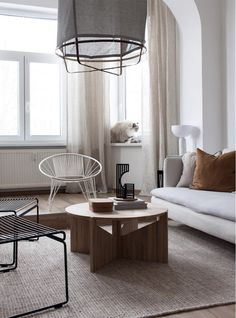 my scandinavian home: A Scandi-Inspired Home in The Czech Republic In Soothing Neutrals Ikea X Hay, Ikea Wall Shelves, Norwegian House, Scandinavian Interior, Scandinavian Living, Inspired Homes, Stores, Interior Design Inspiration, Vintage Home Decor