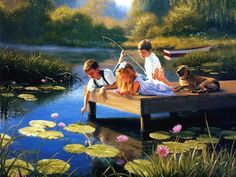 MARK KEATHLEY...I wonder if they'll catch a fish for us to eat??:):)