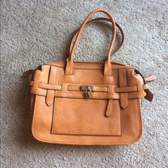 Melie Bianco structured lock tote Only used once, great condition!  Looks similar to the Michael kors Hamilton Melie Bianco Bags Totes